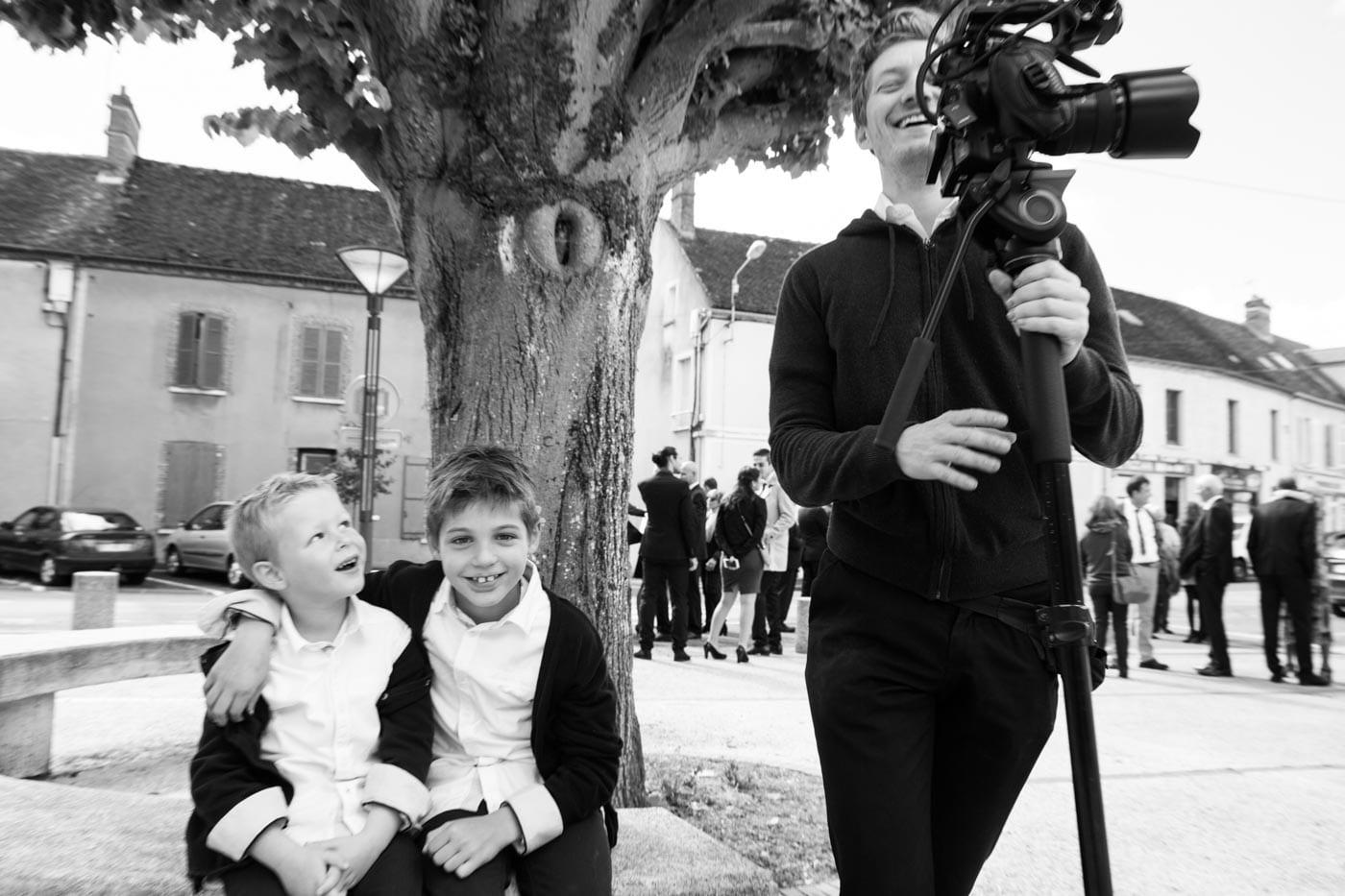 cameraman for wedding