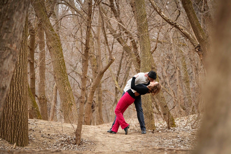 Hidden Falls Engagement session-01