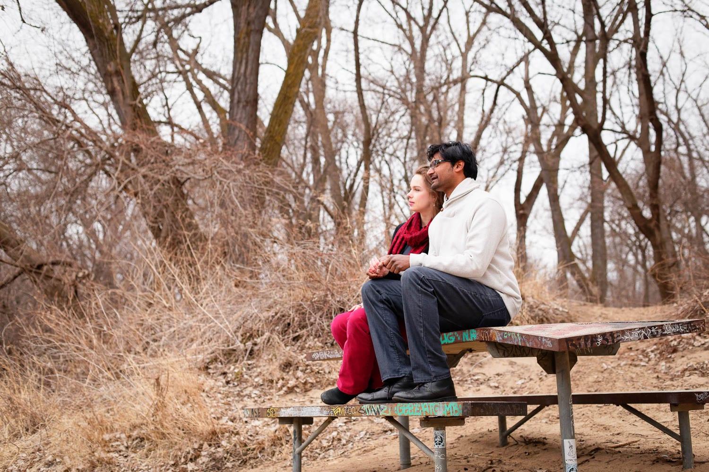 Hidden Falls Engagement photo session-