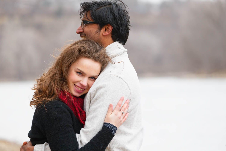 Hidden Falls Engagement photos