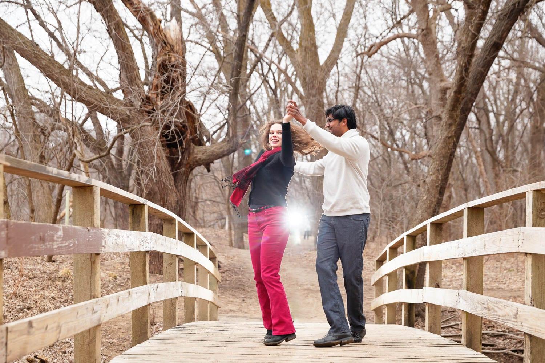 Hidden Falls Engagement session