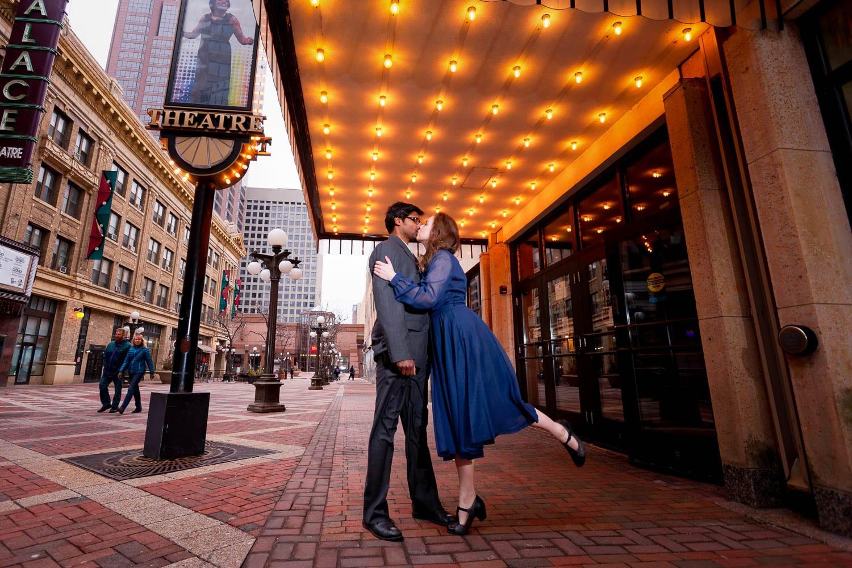 Saint-Paul engagement session photo