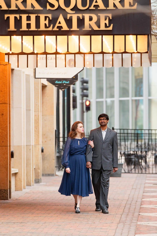 Saint-Paul engagement session couple
