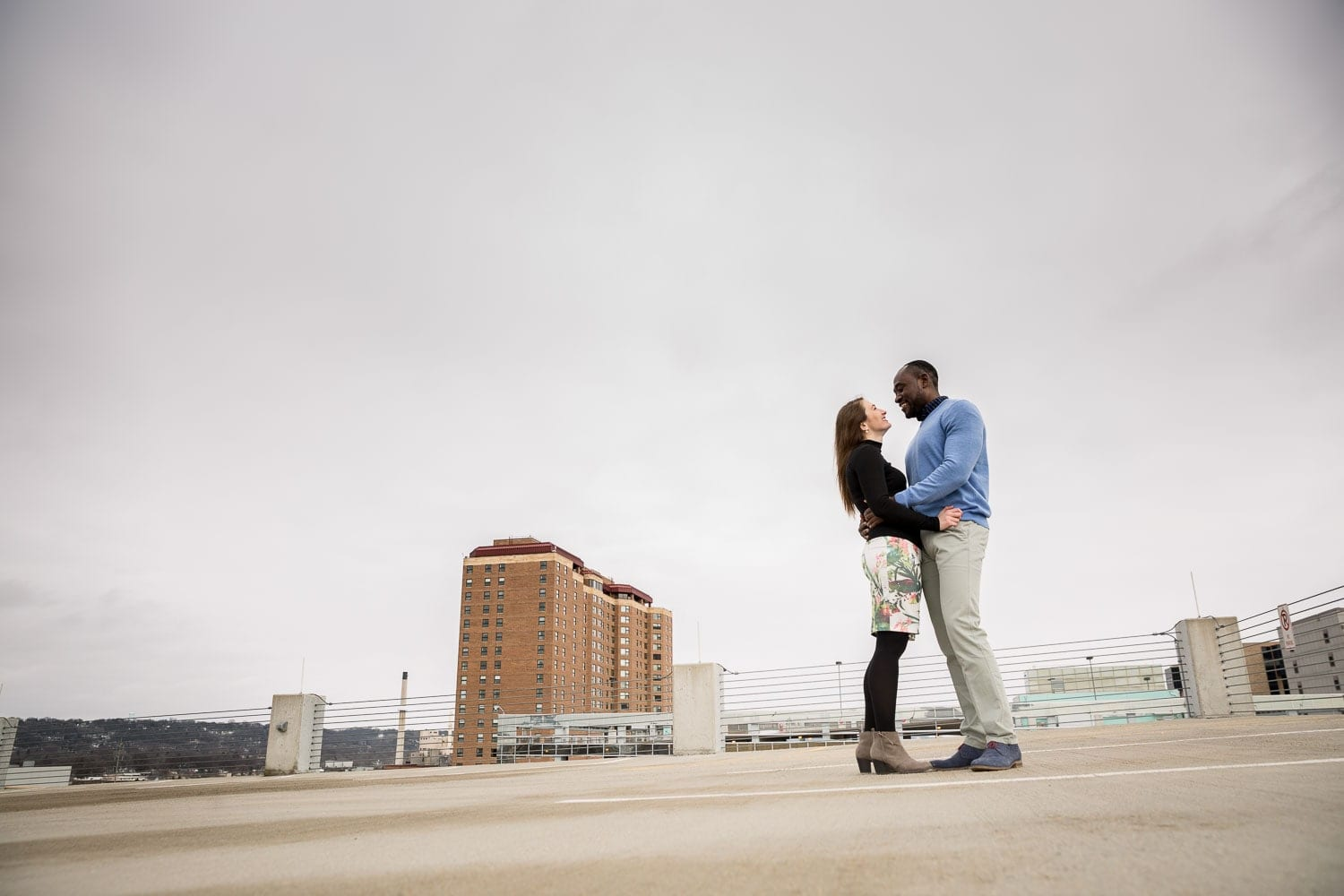 engagement session rochester mn