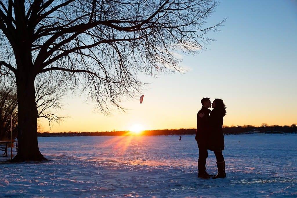 centenial lakes winter