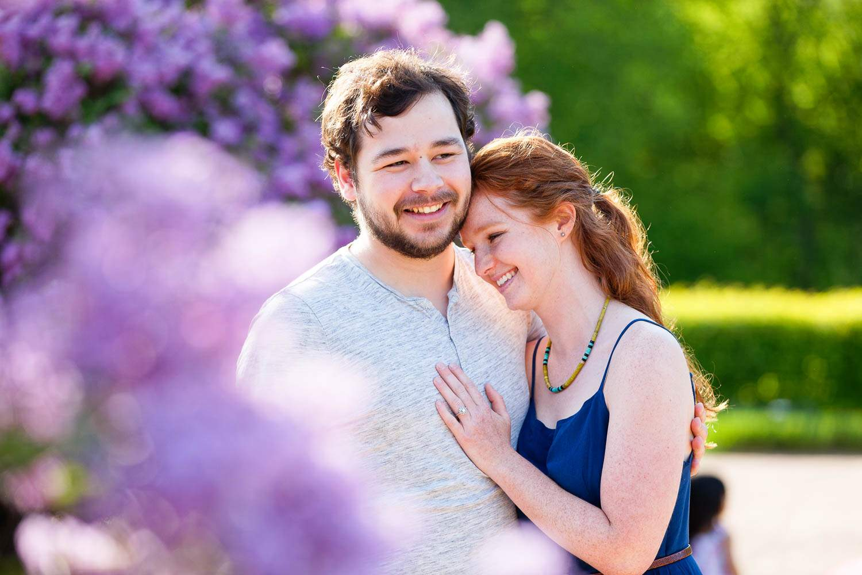 — couple complicity rosegarden —