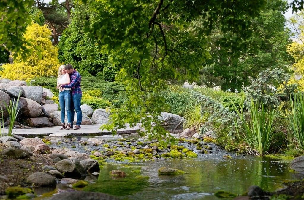 engagement arboretum 2