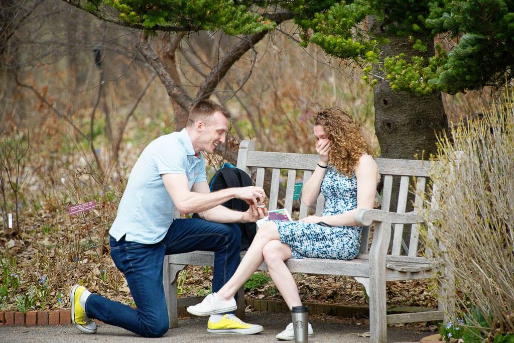 suprise proposal arboretum 2