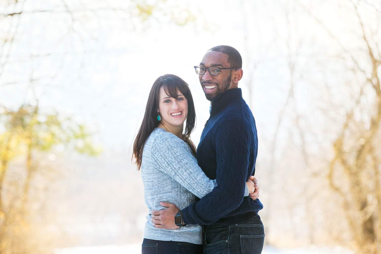 Posing couple