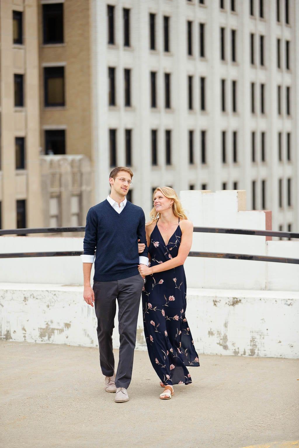engagement rooftop st paul