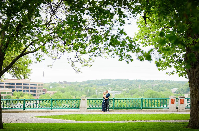 — Blacony Park view on the shoreline riverside —