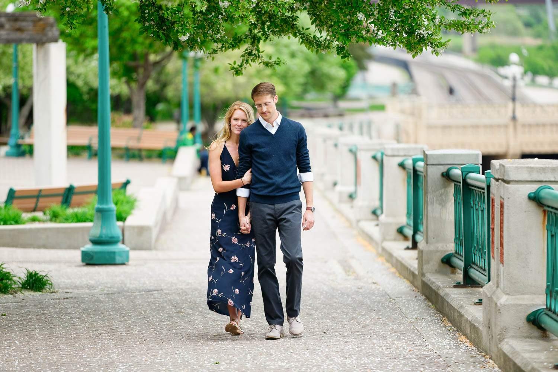 — romantic walk in the capitol street —