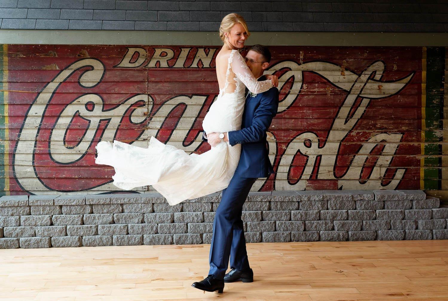 wedding at loft at studio j stillwater mn