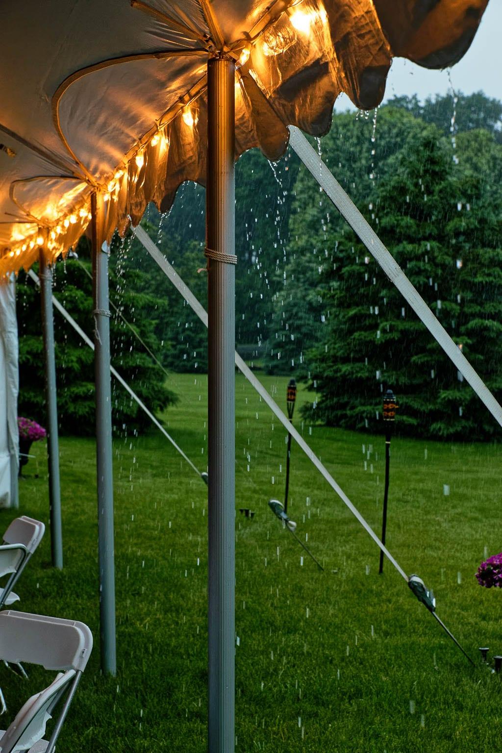 rainy outdoor