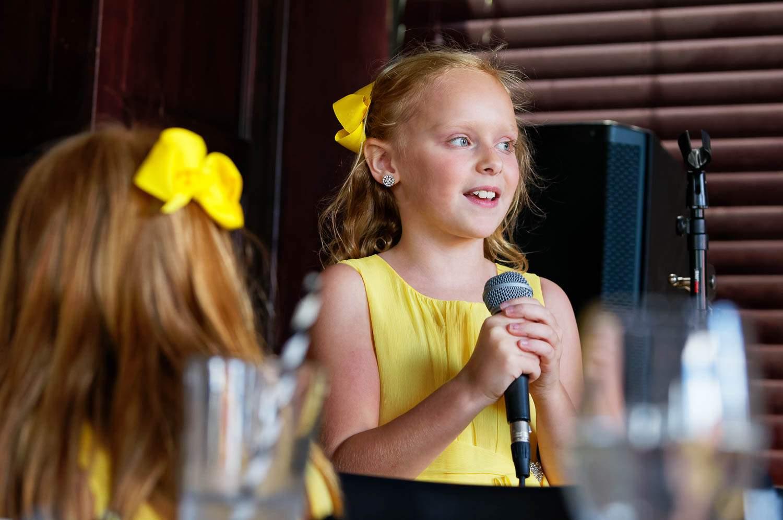 the kid's speech