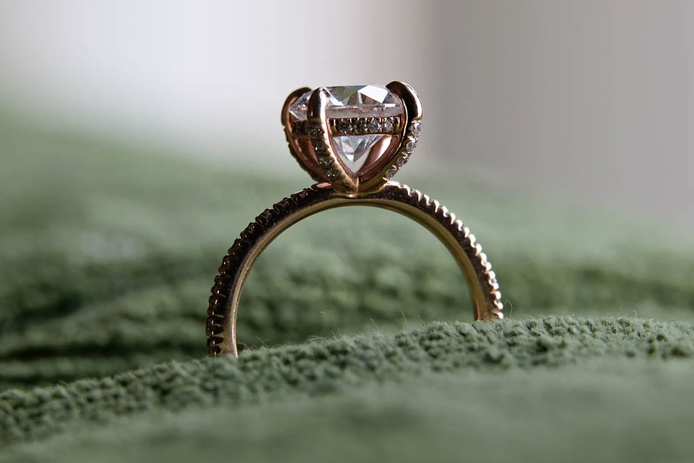 Diamand engagement ring is a milestone in en relationship