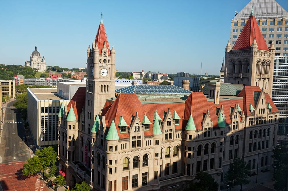 Landmark center Saint Paul MN