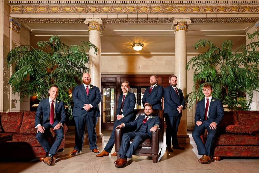 — groom and groomsmen Lobby —