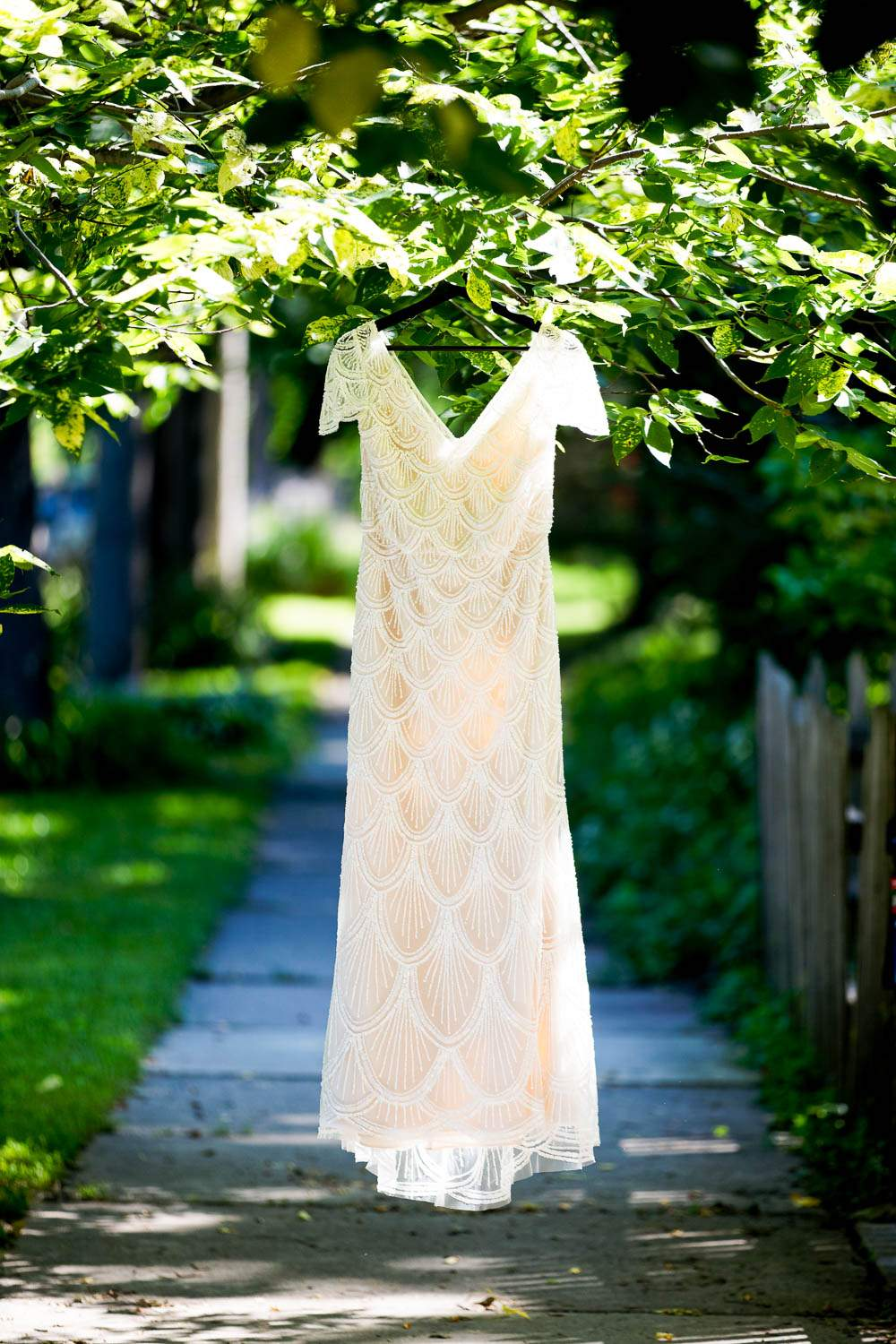 — picturesque s style wedding dress —