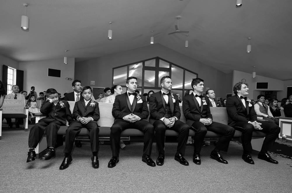 groomsmen seated first raw