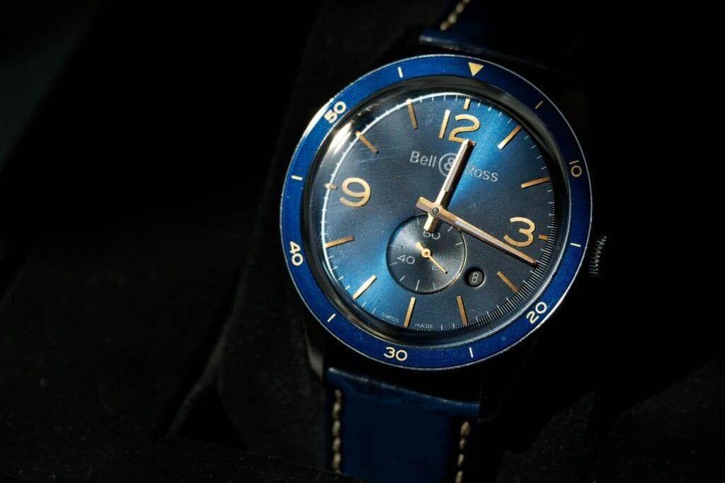 blue bell ross watch