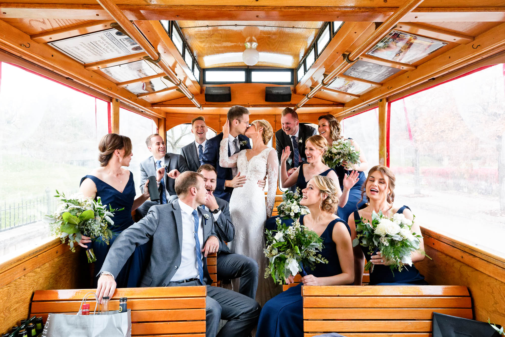 -funny-group-picture-in-a-trolley