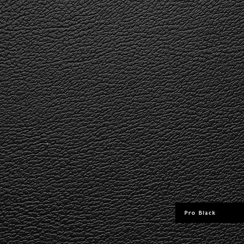 problack synthetic leather
