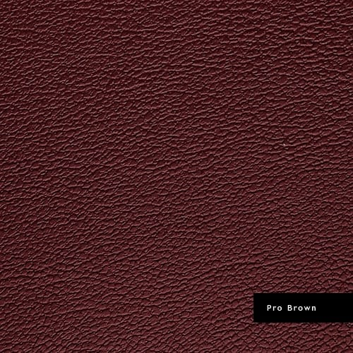 probrown synthetic leather