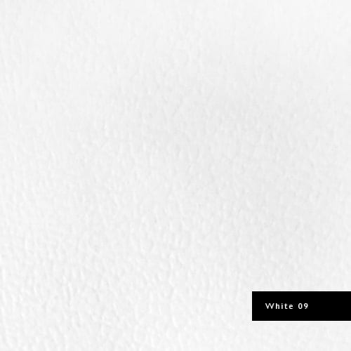 white synthetic leather