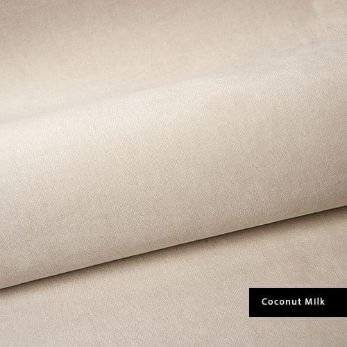 coconut milk material velvet