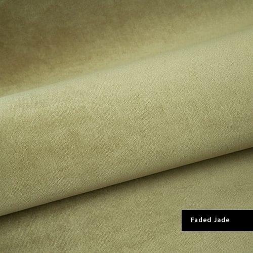 faded jade material velvet